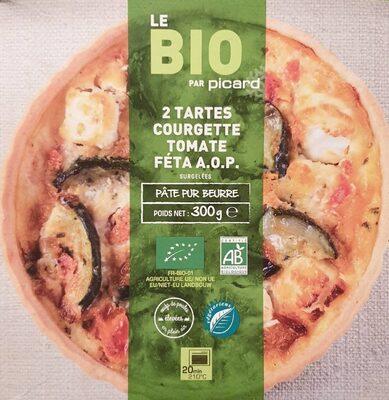 Tarte courgette tomate féta AOP - Product