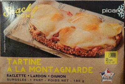 Tartine a la montagnarde - Product - fr