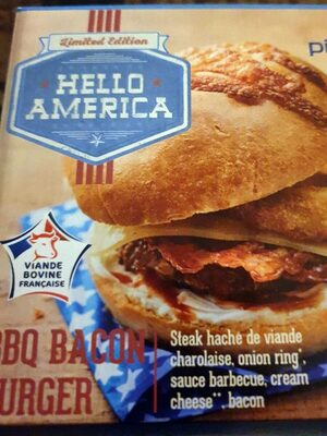 BBQ bacon burger - Product - fr