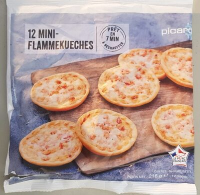 12 mini flammekueches - Product - fr