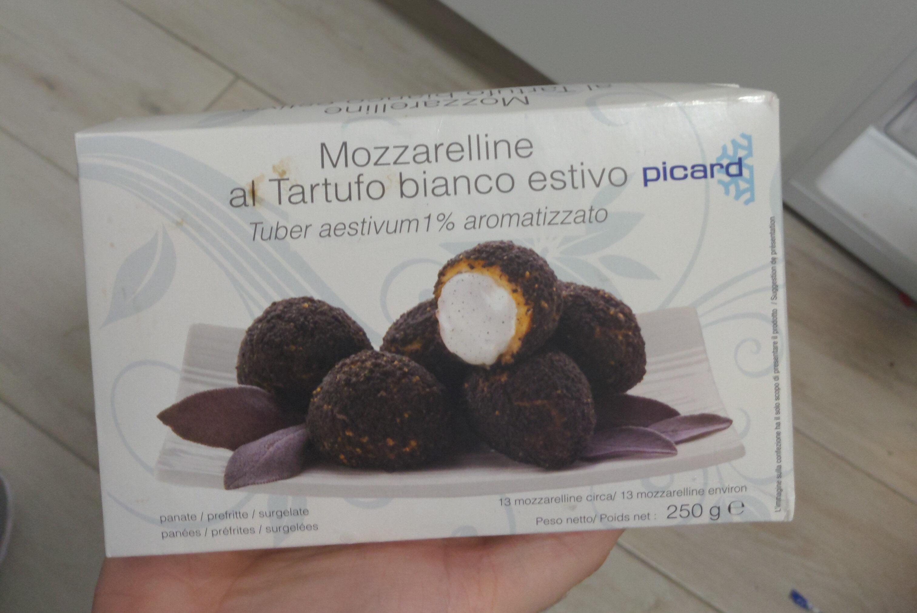 Mozzarelline al tartufo bianco estivo - Product - fr