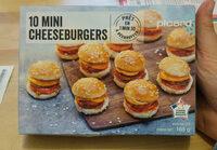 10 mini cheeseburgers - Produit