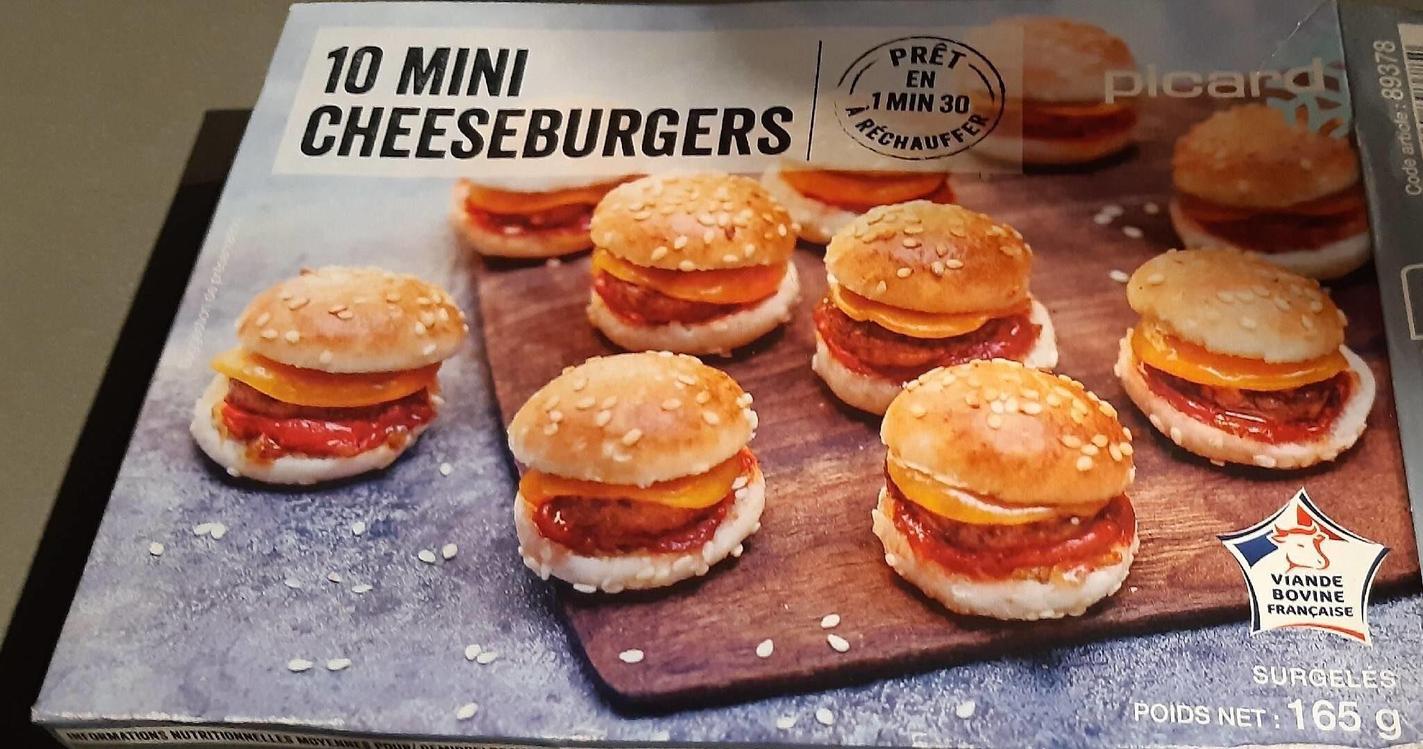10 Mini cheeseburgers - Product - fr