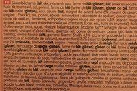 8 Mini Croque-cœurs Apéritifs - Ingrédients - fr