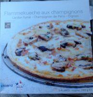 Flammekueche aux champignons - Produit - fr