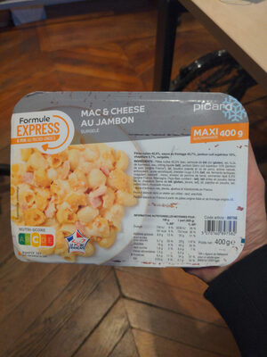 Mac & Cheese au Jambon - Product - fr