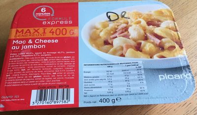 Mac & Cheese au Jambon - Product