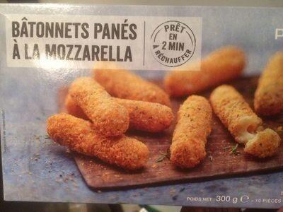Bâtonnets panés à la mozzarella - Prodotto - fr