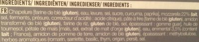 Bâtonnets panés à la mozzarella - Ingredienti - fr