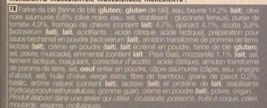 30 Mini-Feuilletés Saveur du Soleil - Ingredients