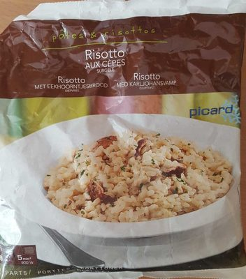 Risotto Cèpes - Product