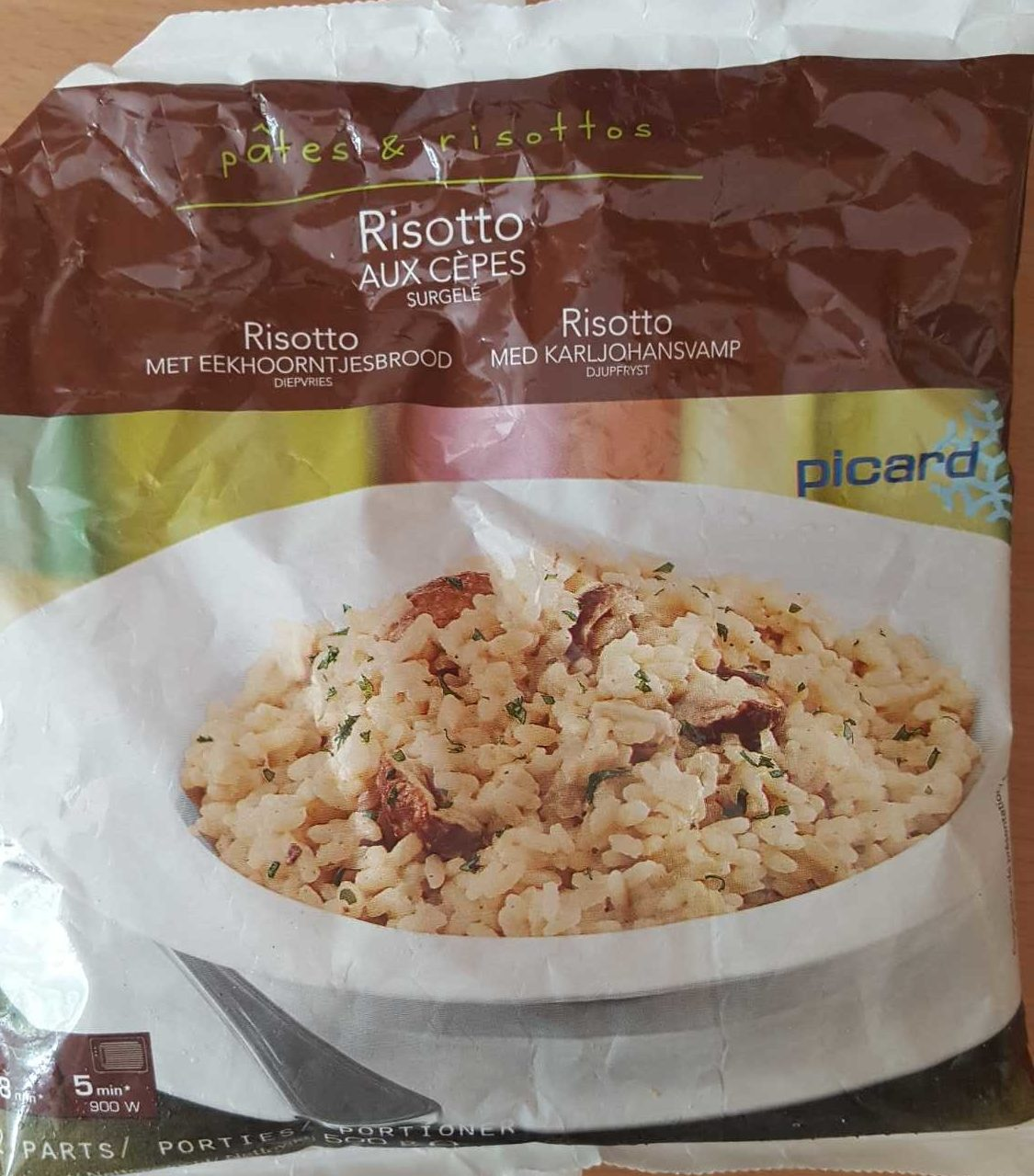 Risotto Cèpes - Product - fr