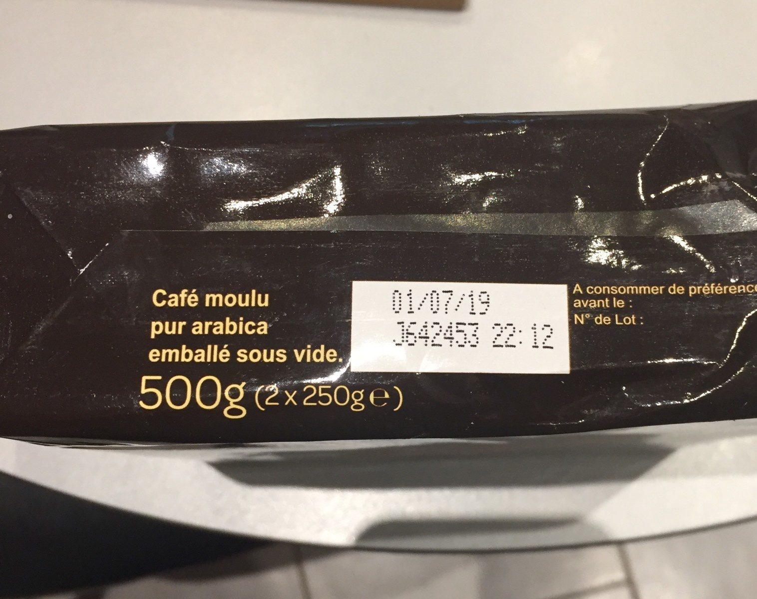 Café moulu Équilibré - Ingredients
