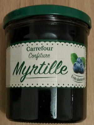 Confiture Myrtille - Produit