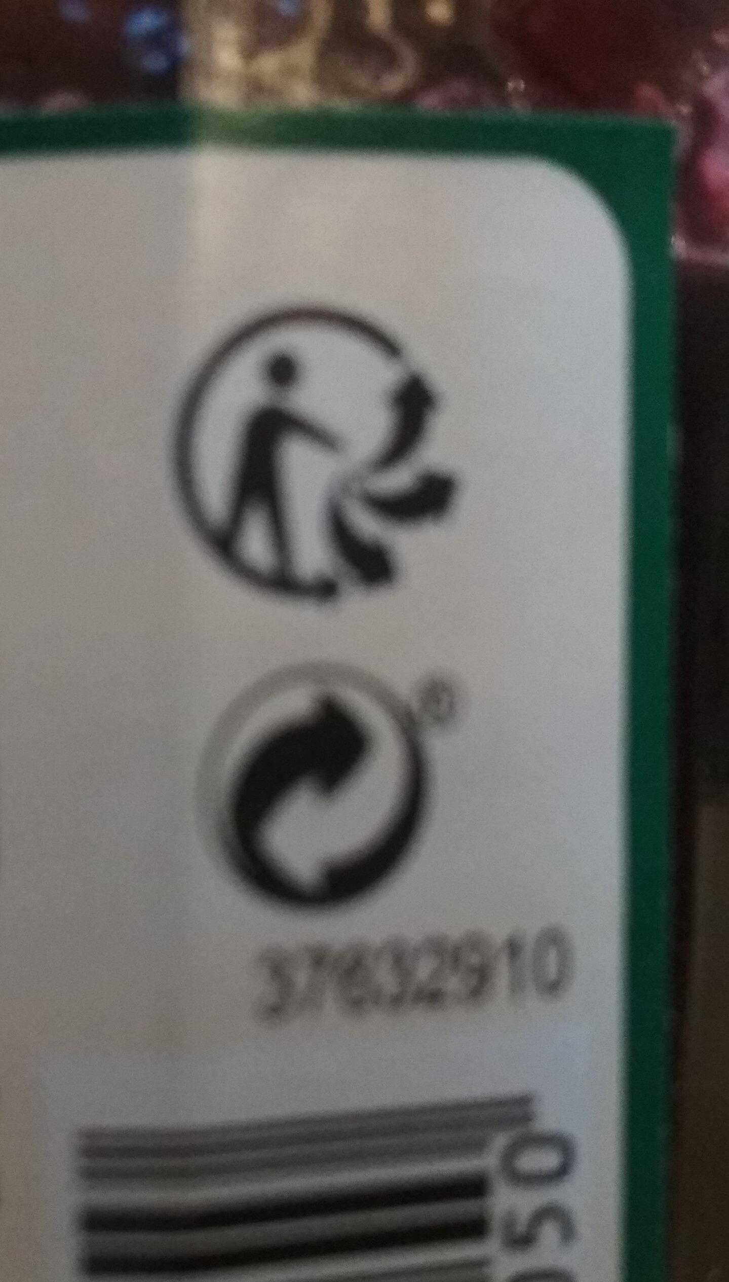 Confiture Myrtille - Instruction de recyclage et/ou informations d'emballage - fr