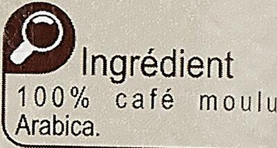 Café moulu Équilibré - Ingrédients - fr