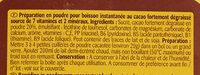 KAOMIX - Ingrédients - fr