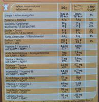 Kaomix - Informations nutritionnelles - fr