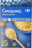 Couscous grain moyen - Product - fr