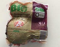 Betteraves rouges entières épluchées, cuites sous vide - Product