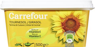 Margarina tres cuartos girasol para untar y cocinar - Producte