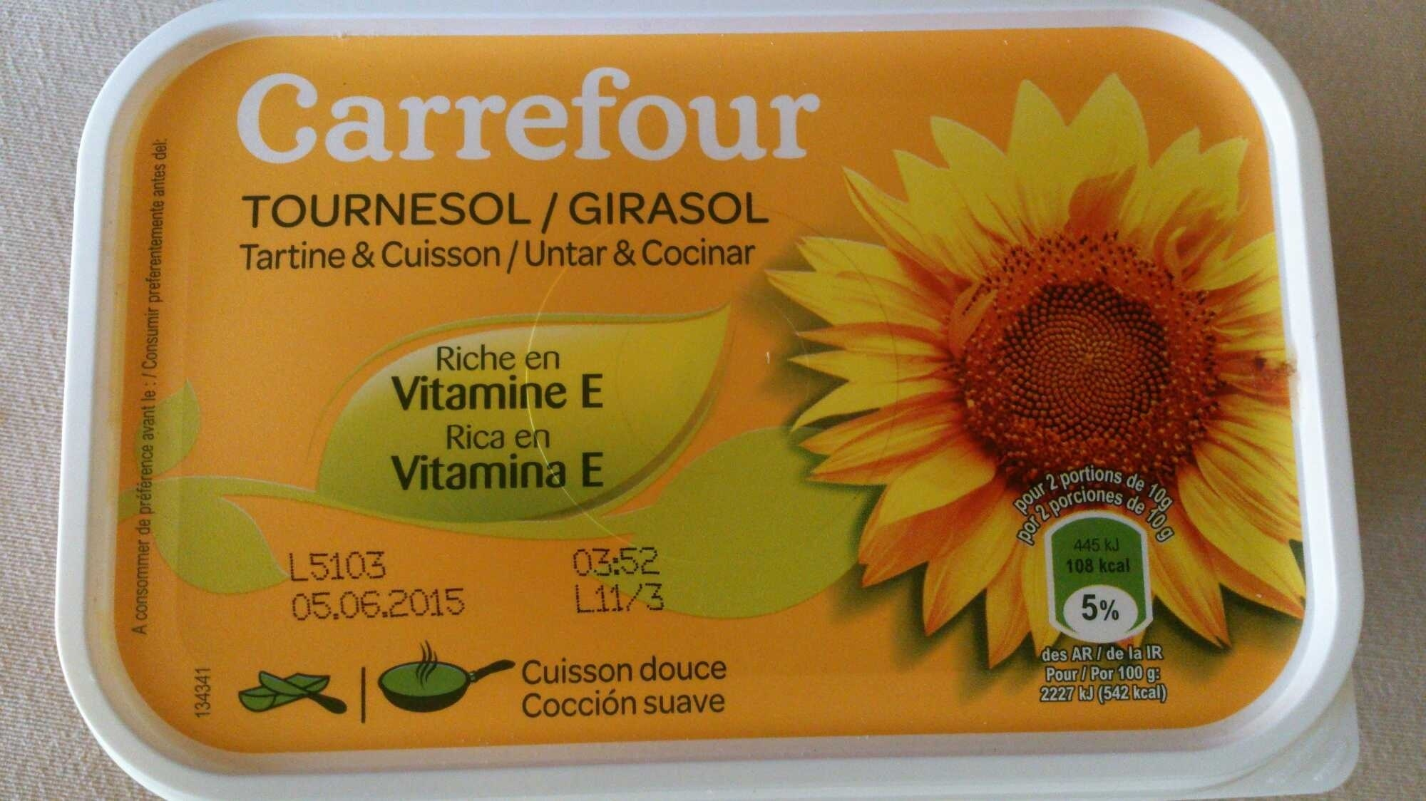 Tournesol tartine & cuisson - Product