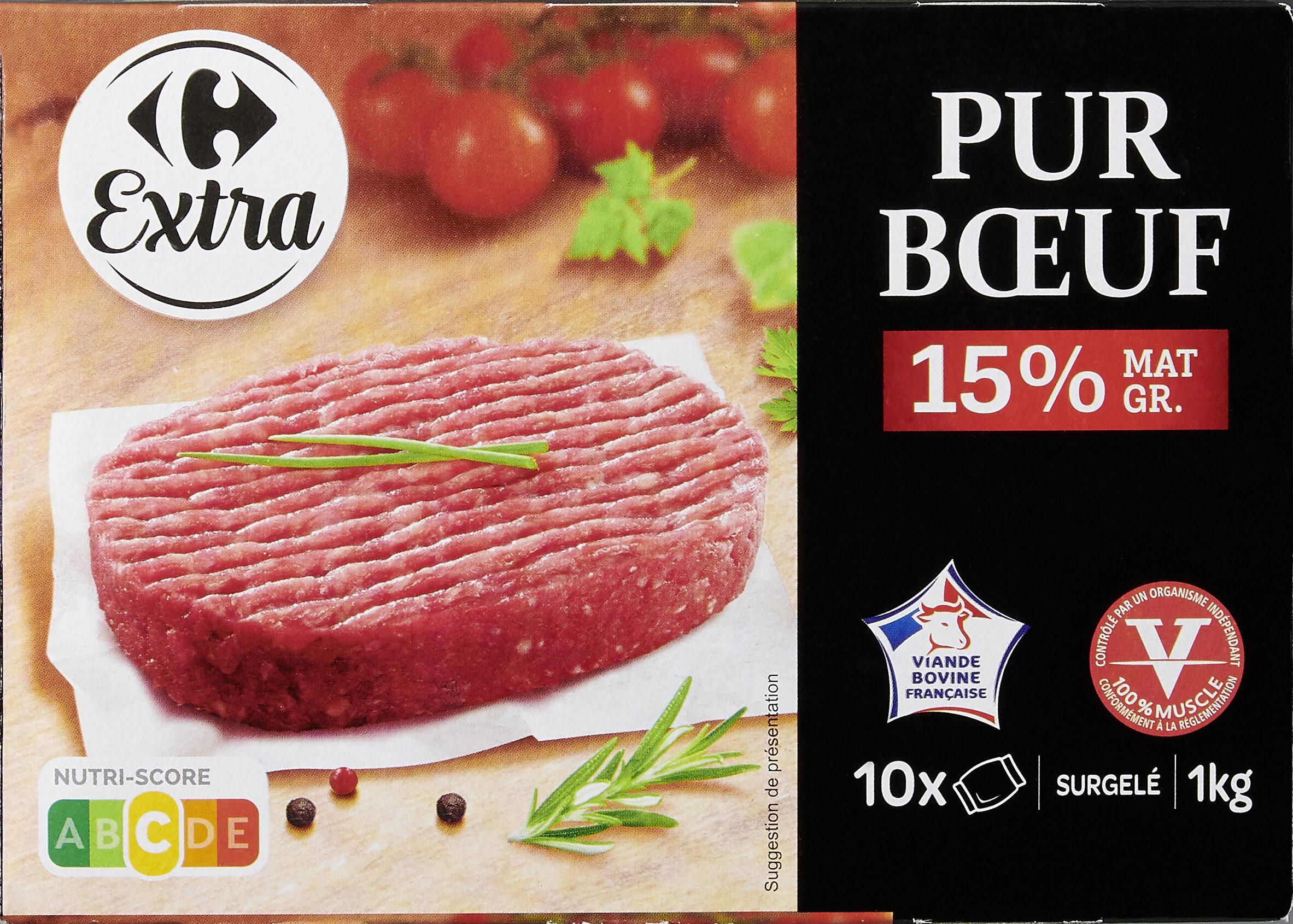 Le Pur Boeuf 10 Steaks hachés - Product - fr