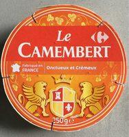 Camembert (21 % MG) Onctueux & Crémeux - Produit