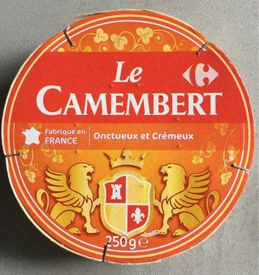 Camembert (21 % MG) Onctueux & Crémeux - Produit - fr