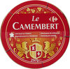 Le Camembert - Fromage à patte molle au lait pasteurisé - Prodotto