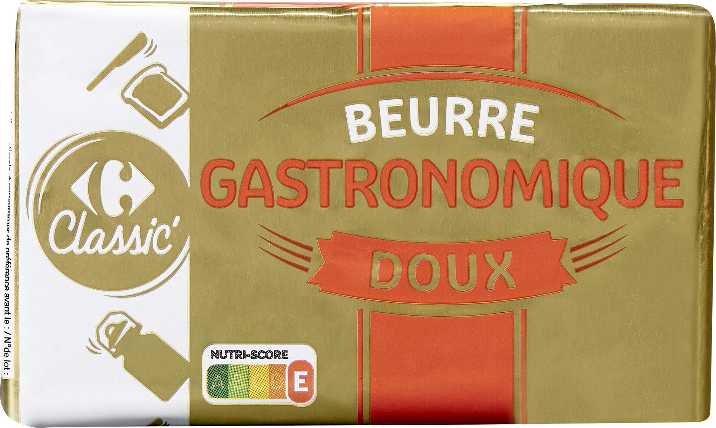 Beurre DOUX LAIT ORIGINE BRETAGNE - Produit - fr