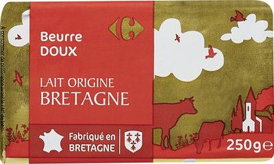 Beurre doux lait origine bretagne - Product
