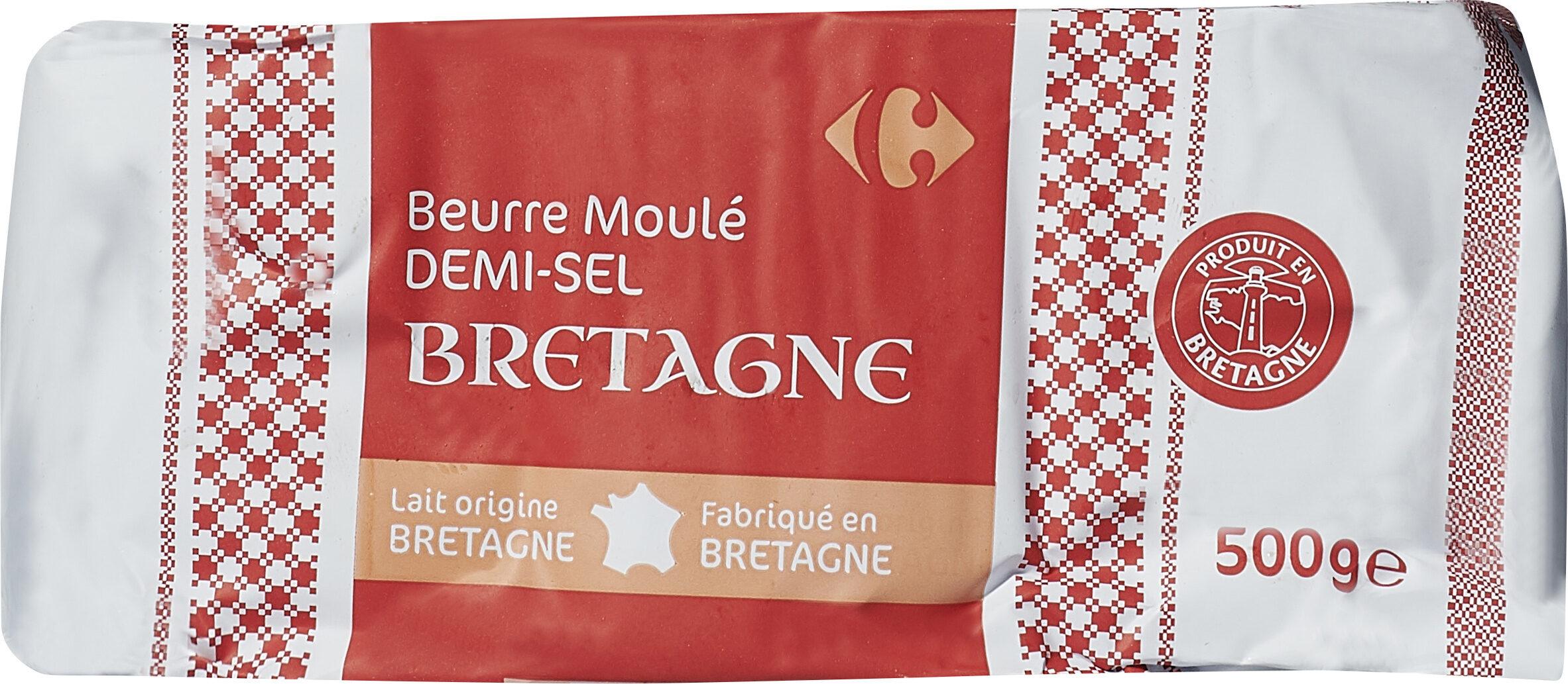 Beurre Moulé DEMI-SEL BRETAGNE - Product - fr