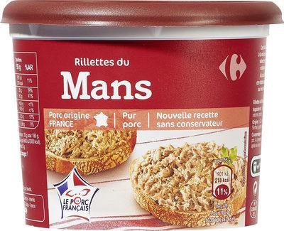 Rillettes du Mans - Product - fr
