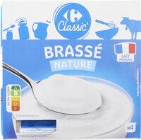 Yaourt Nature Brassé - Product - fr