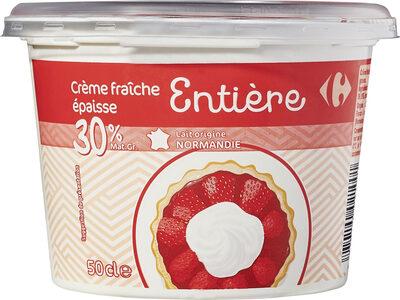 Crème fraîche épaisse Entière - Prodotto - fr