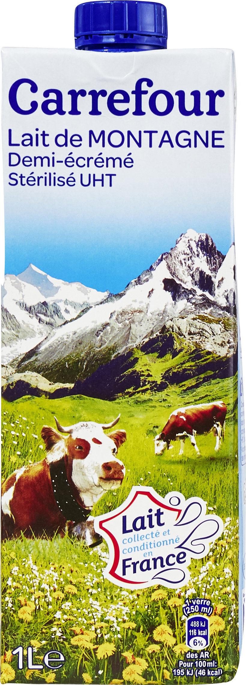 Lait de montagne (demi-écrémé) - Product - fr