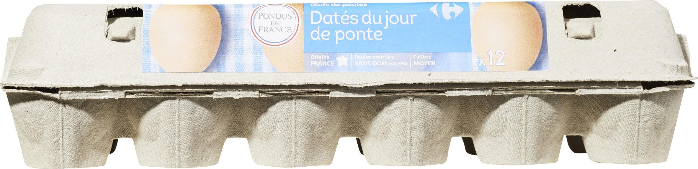 OEufs de poules Datés du jour de ponte - Product - fr