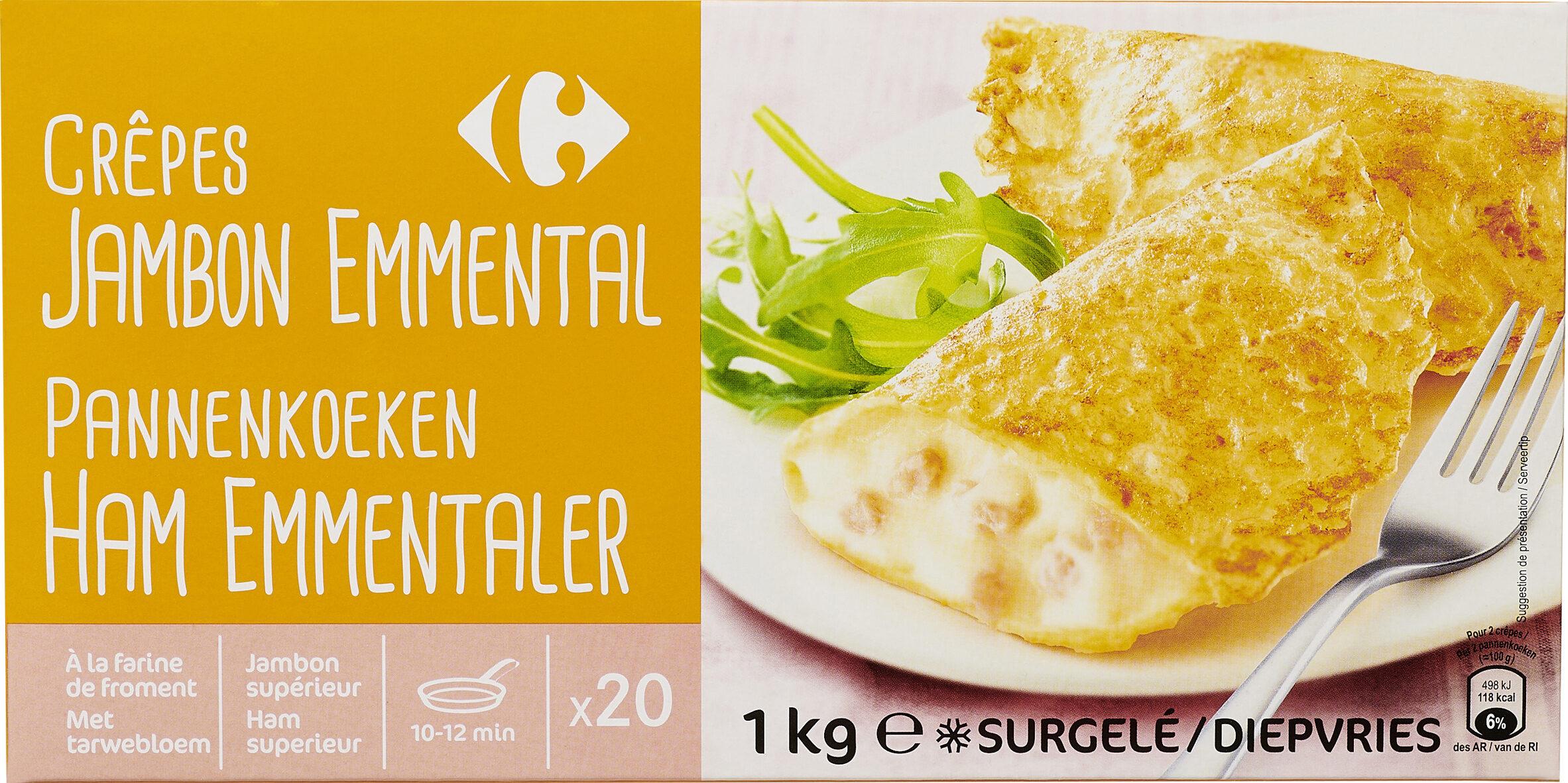 Crêpes Jambon Emmental - Product - fr
