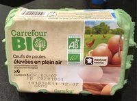 Oeufs de poule élevées en plein air - Product - fr