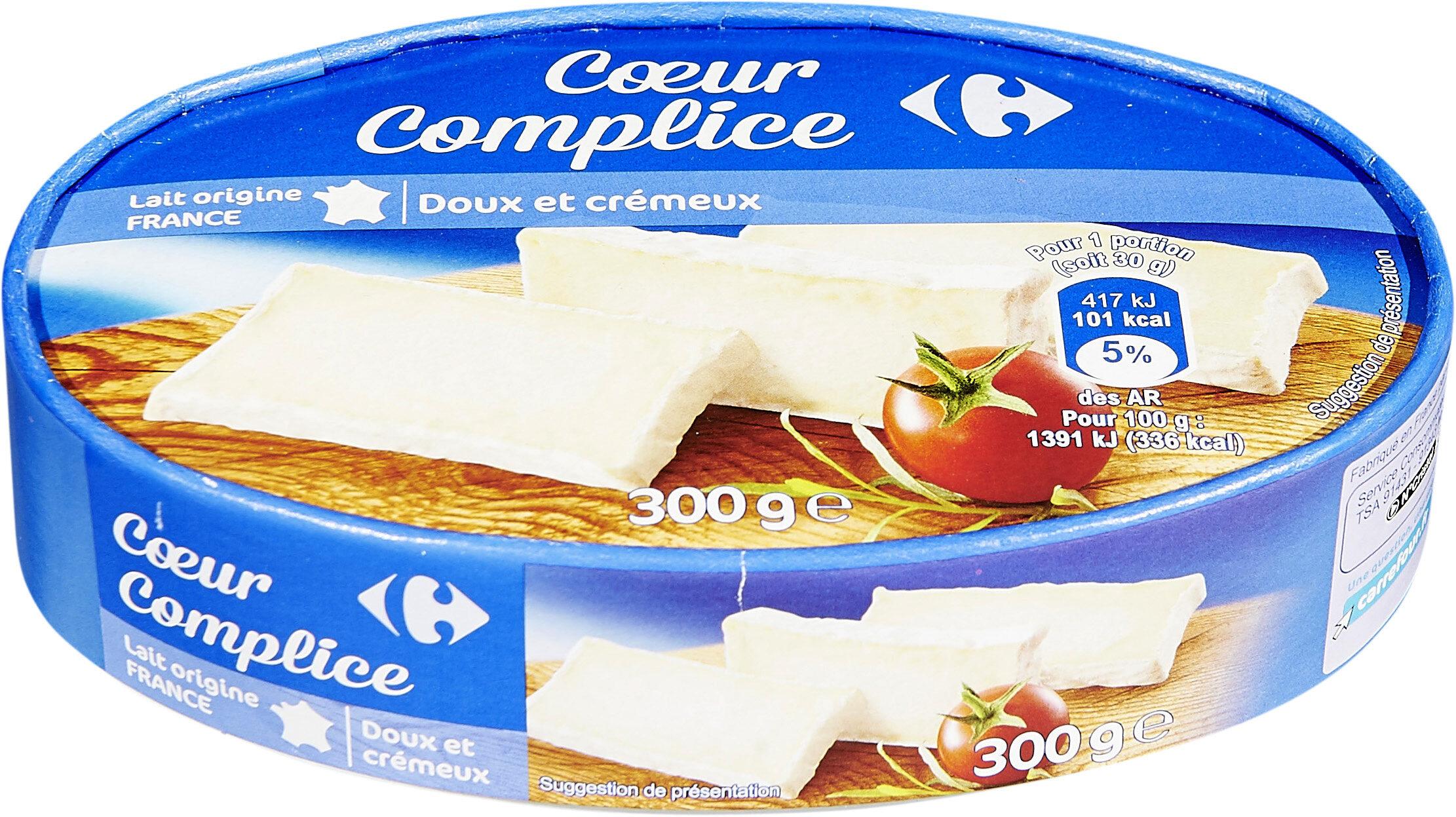 Cœur complice - Fromage double crème - Product - fr