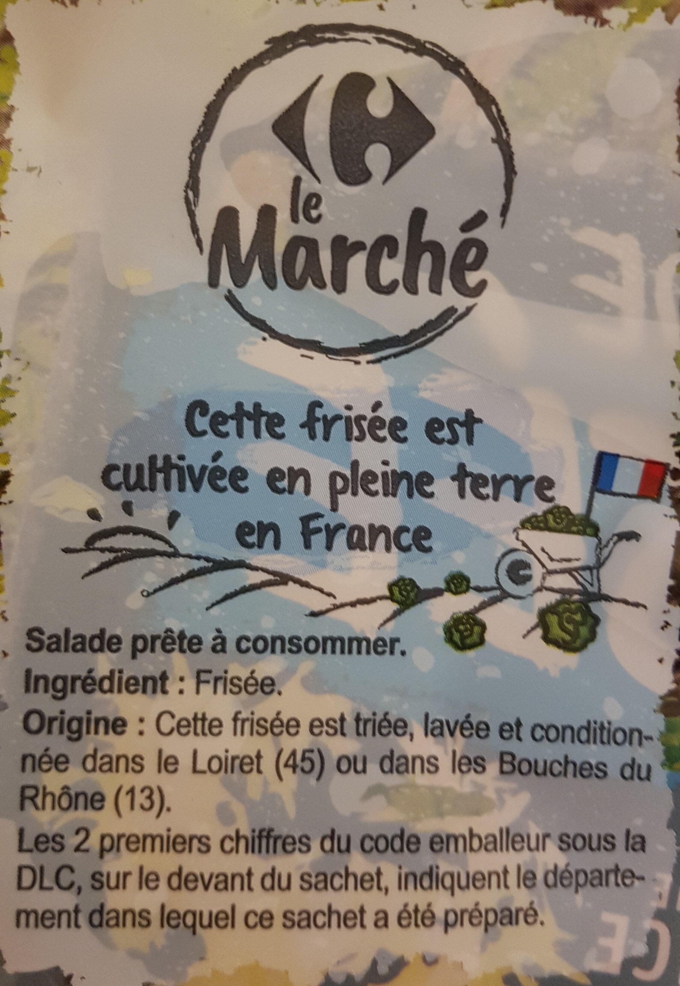 Salade frisée - Ingredients - fr