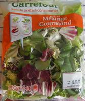 Salade prête à consommer, Mélange Gourmand (4 portions) - Produit