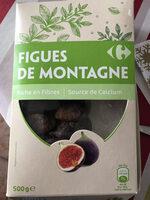 Figues de Montagne - Produit