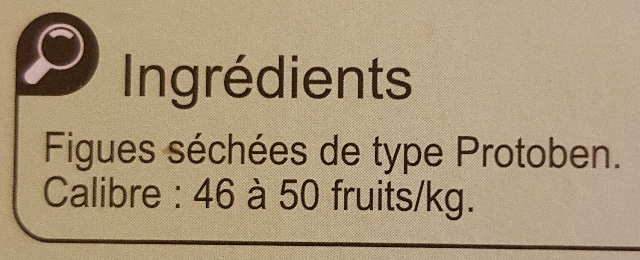 Figues de Montagne - Ingredients - fr