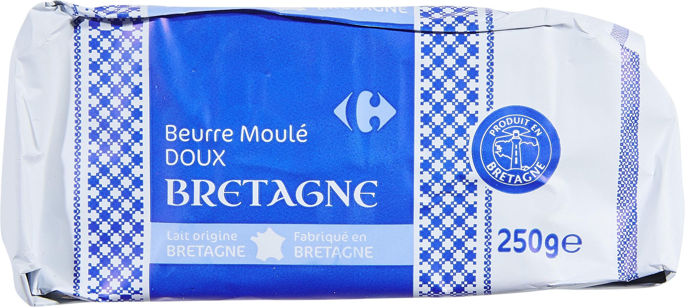Beurre Moulé Doux Bretagne - Product - fr