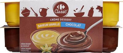 Crème dessert 6 Chocolat 6 Saveur Vanille - Product - fr