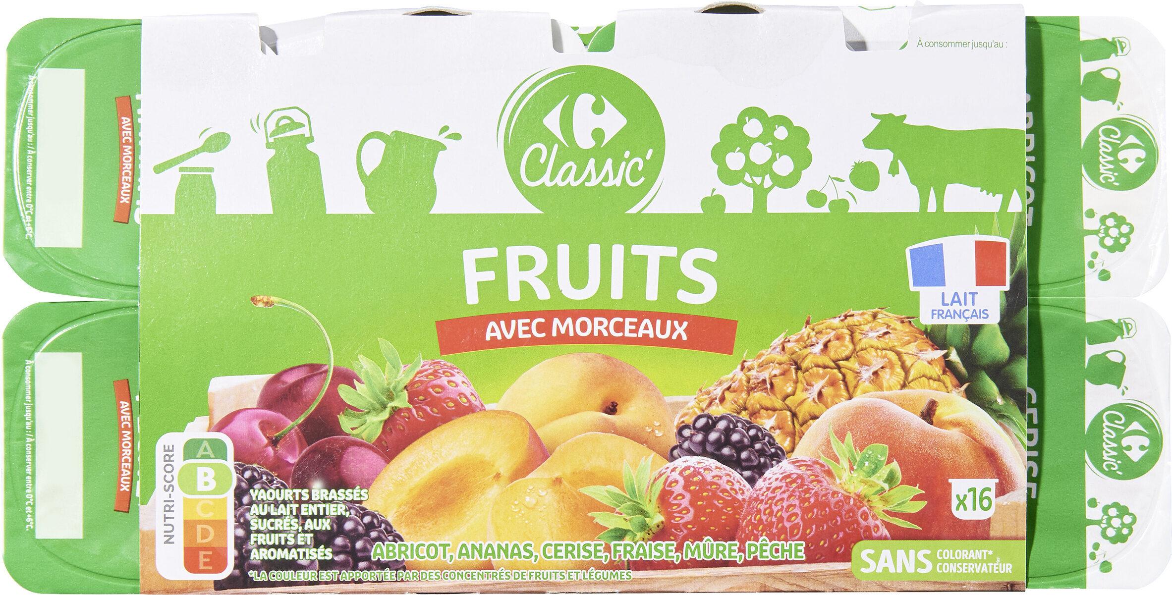 Yaourts Aux Fruits - Prodotto - fr