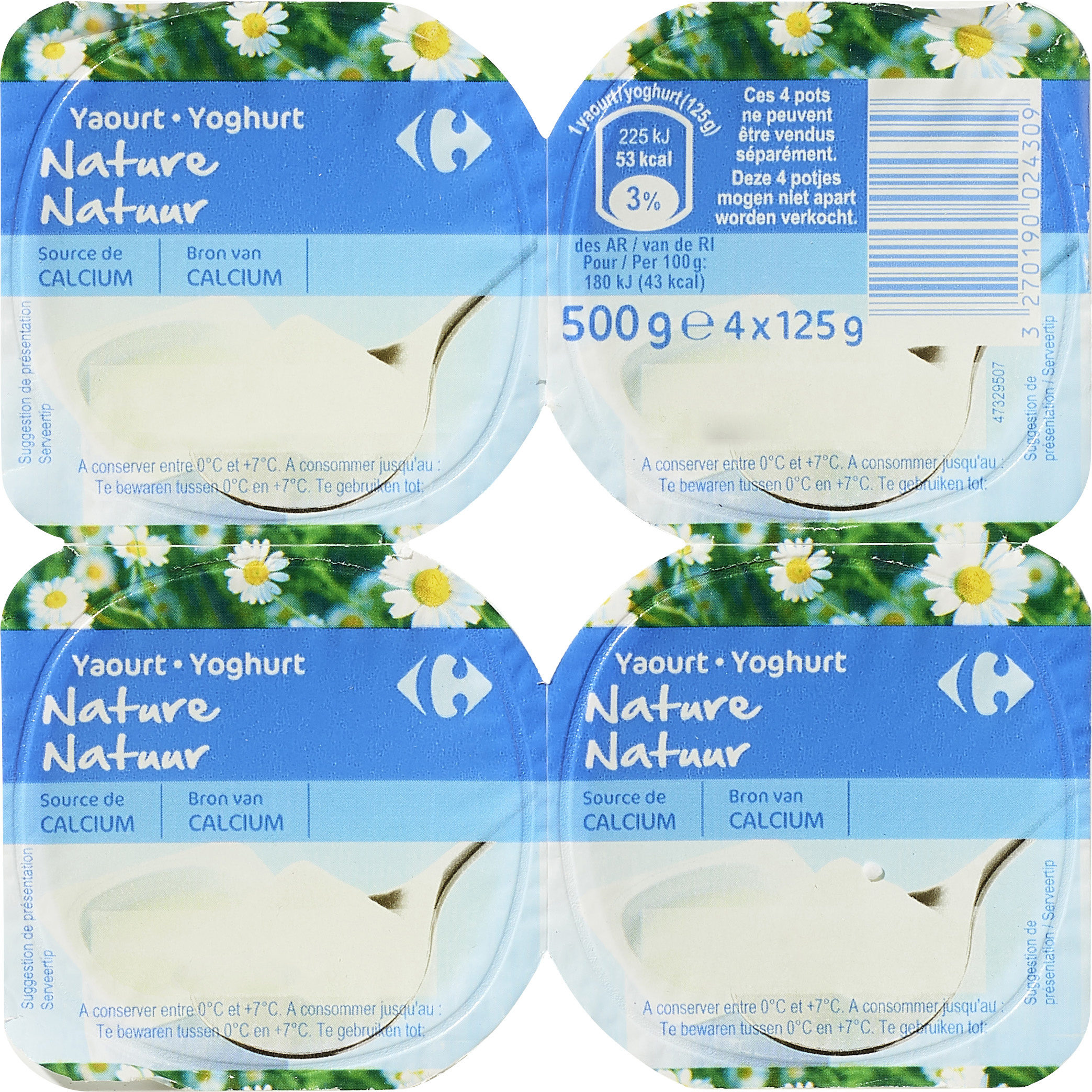 Yogur natural - Product - es