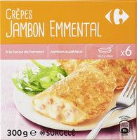 Crêpes Jambon Emmental - Producto - fr
